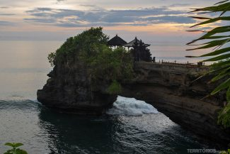 O que fazer em Bali: templo Tanah Lot