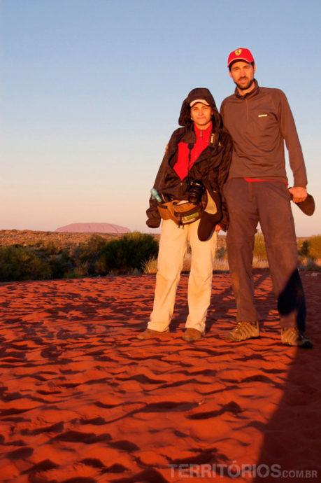 Roberta e Leandro Gabrieli no Outback
