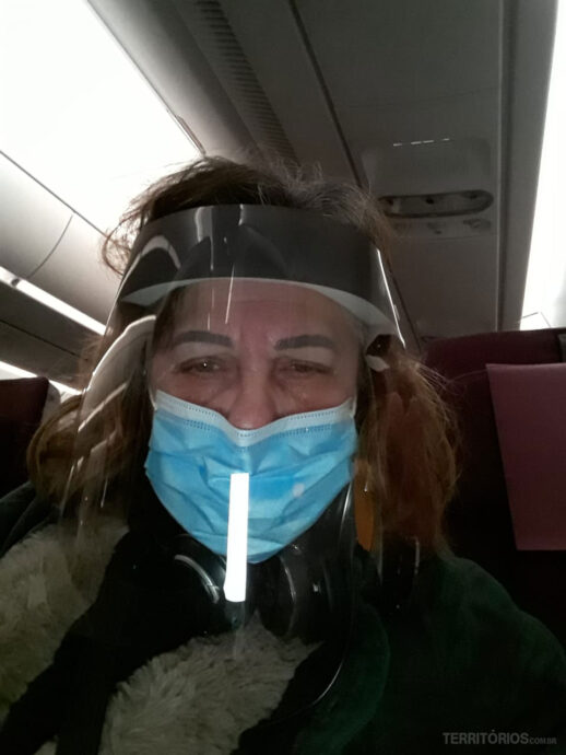 Graça Martins viajando em tempos de pandemia