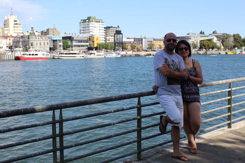 Luciano e Paula no Chile, uma das viagens transformadoras