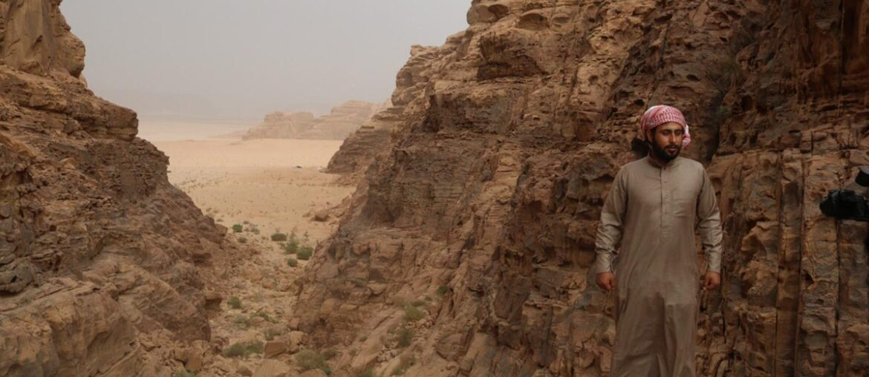 Oriente Médio: beduíno em Wadi Rum