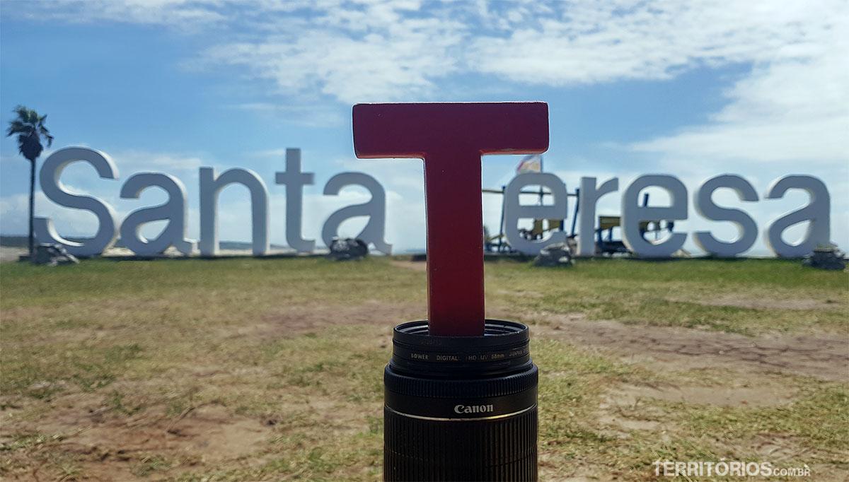Tesão no etreiro do Parque Nacional Santa Teresa, Rocha, Uruguai