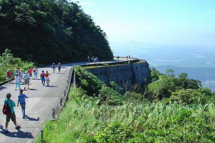 Curva do Uau, Caminhos do Mar para passar o 7 de setembro