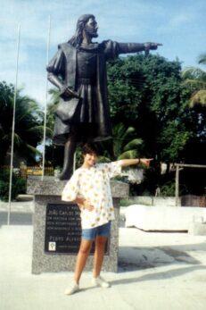 Estátua de Pedro Álvares Cabral em Santa Cruz de Cabrália