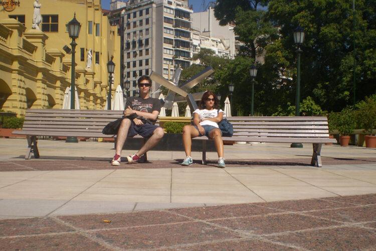 Rodolpho Reis e Roberta Martins em Buenos Aires
