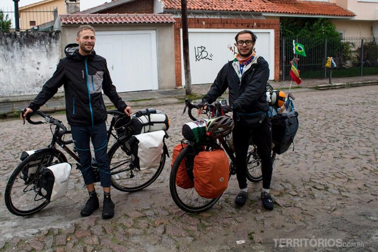 Do Brasil para o Uruguai de bicicleta